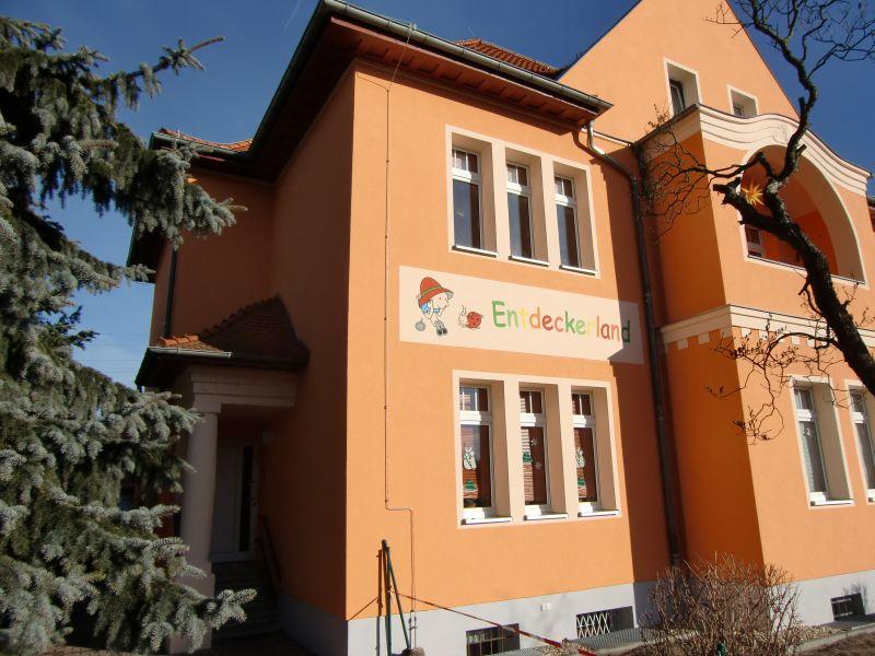 Fassade Kita Entdeckerland 8